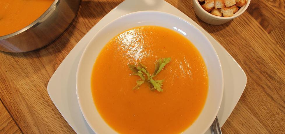 Aksamitna zupa krem z dyni i ziemniaków (autor: iwonadd ...
