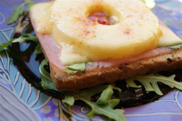 Przepis  hawajskie tosty przepis