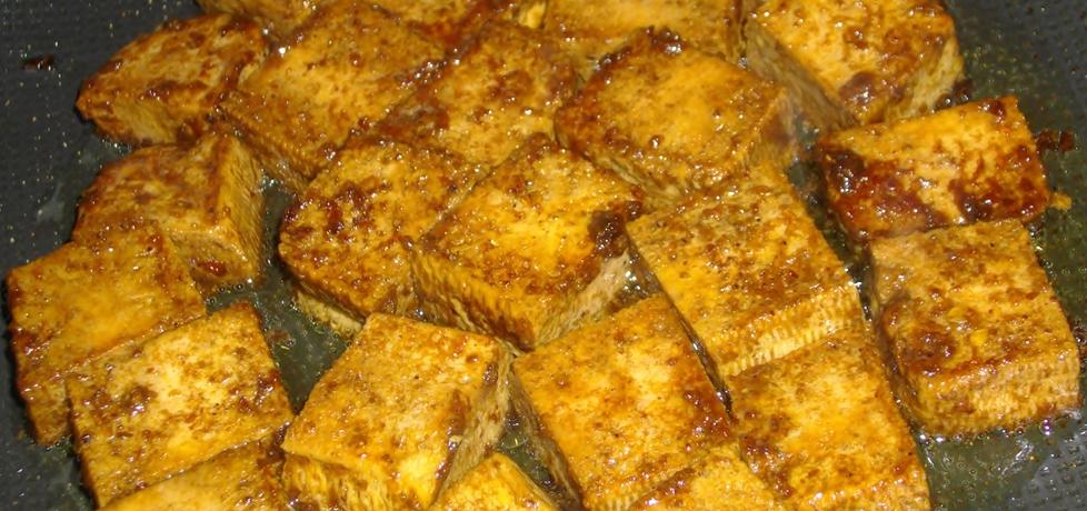 Tofu marynowane i smażone (autor: habibi)