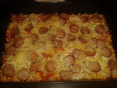 Domowa pizza na warzywnym spodzie