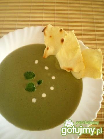 Przepis  meksykańska zupa z awokado przepis