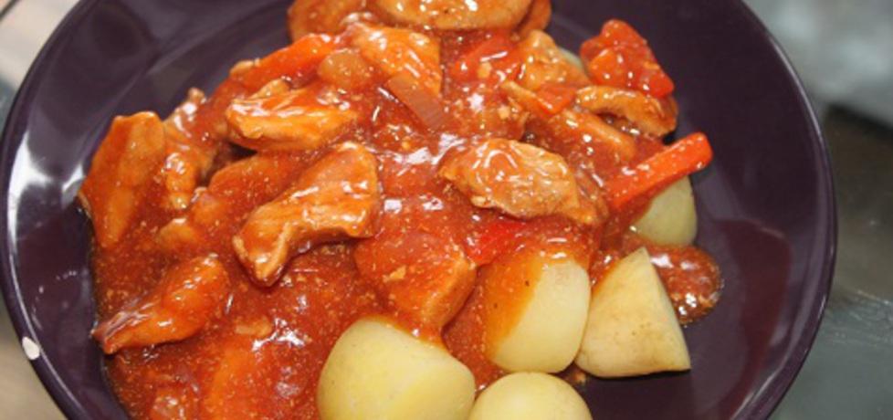 Gulasz z szynki z warzywami (autor: mela25)