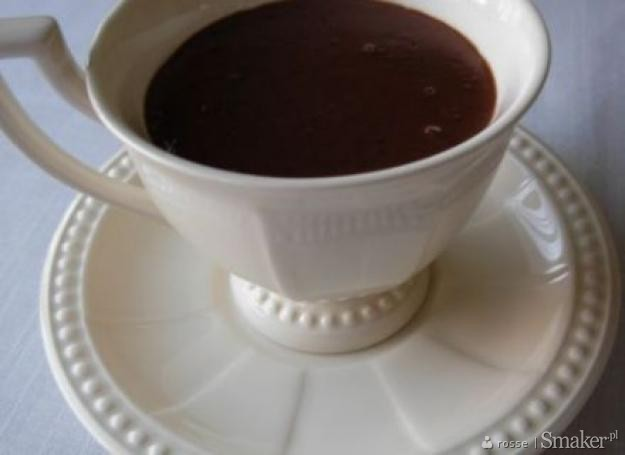 Włoska gorąca czekolada(cioccolata calda)