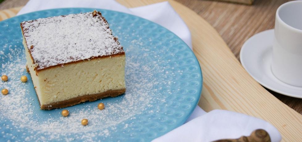 Puszysty sernik na ciasteczkach (autor: kulinarna
