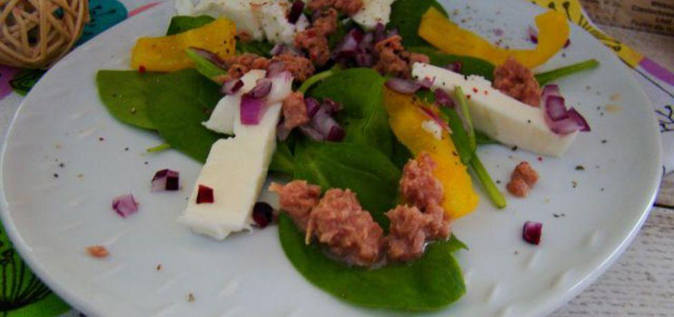 Sałatka z mozzarella i tuńczykiem (autor: iwa643)