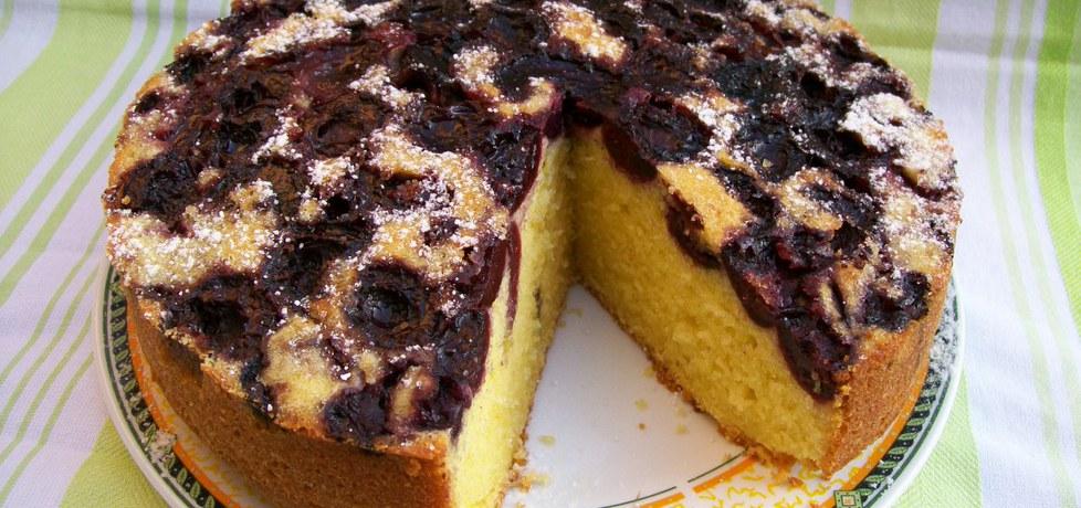 Odwrócone ciasto z owocami (autor: migotka28)