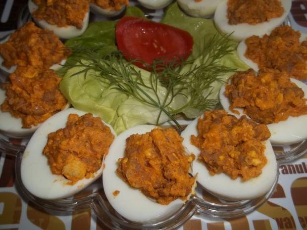 Przepis  jajka faszerowane mielonym przepis