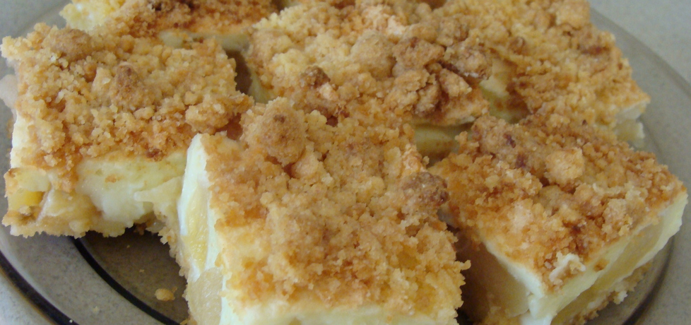 Kruche ciasto z jabłkiem i budyniem (autor: moni0212 ...