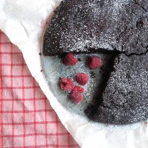 Ciasto a'la brownie wegańskie