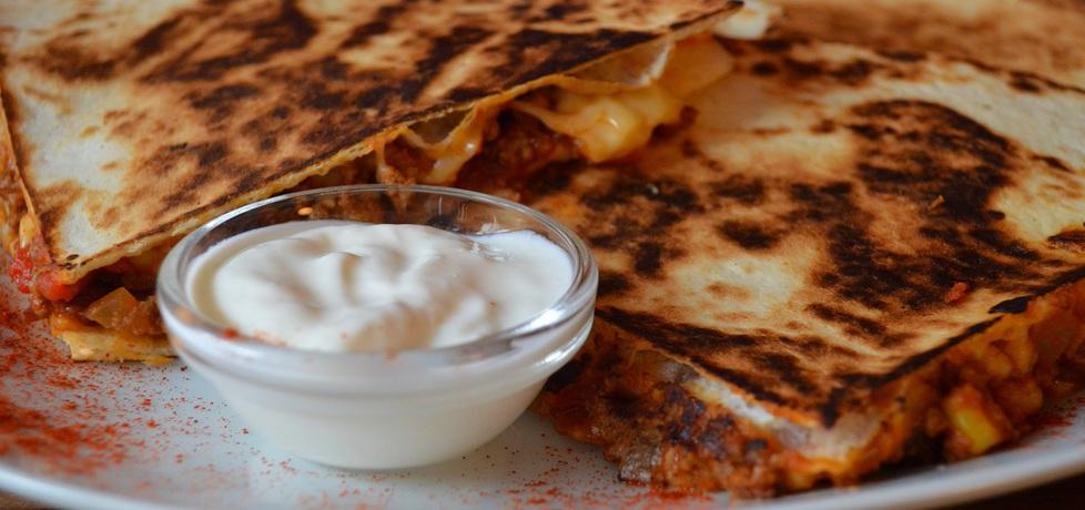 Quesadillas z farszem chili con carne (autor: koma61 ...