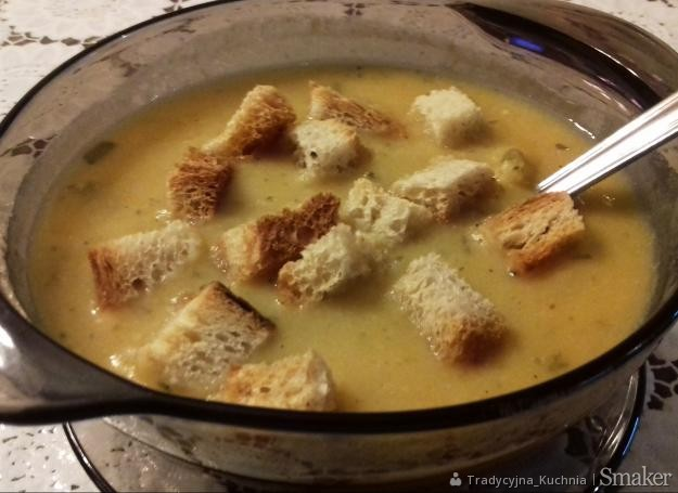 Zupa grochowa krem