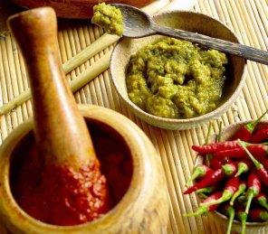 Pasty curry czerwona i zielona  prosty przepis i składniki