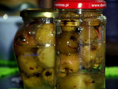 Rajskie jabłuszka w syropie