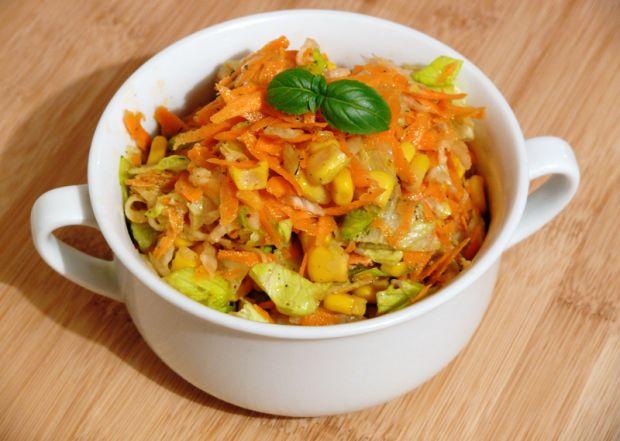 Przepis  surówka z marchewki i białej rzodkwi przepis