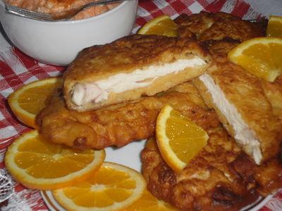 Filet z kuraczka w serowej panierce