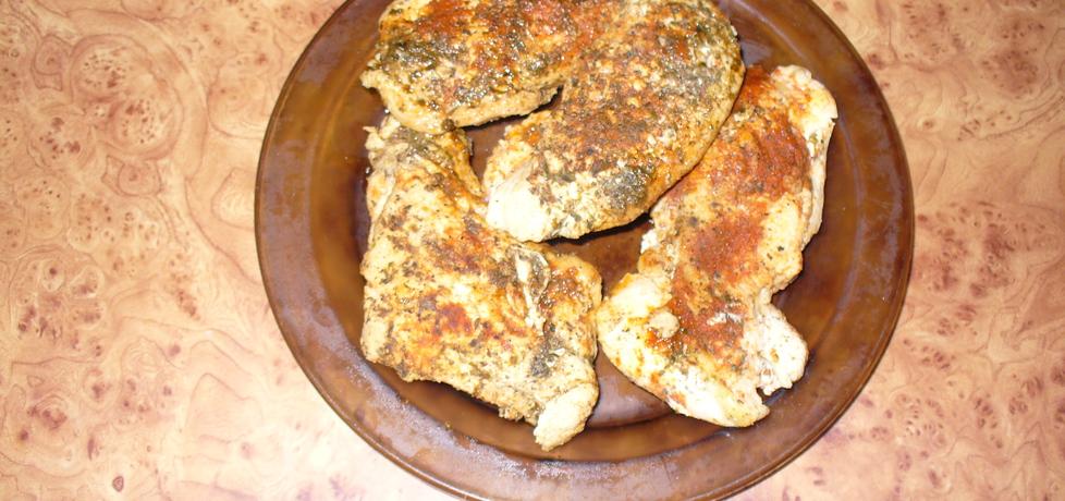 Filet z kurczaka pieczony bez tłuszczu (autor: jagoda5913 ...