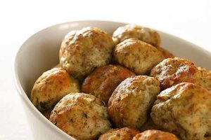 Ukraińskie gałuszki (kotlety ziemniaczano-mięsne)