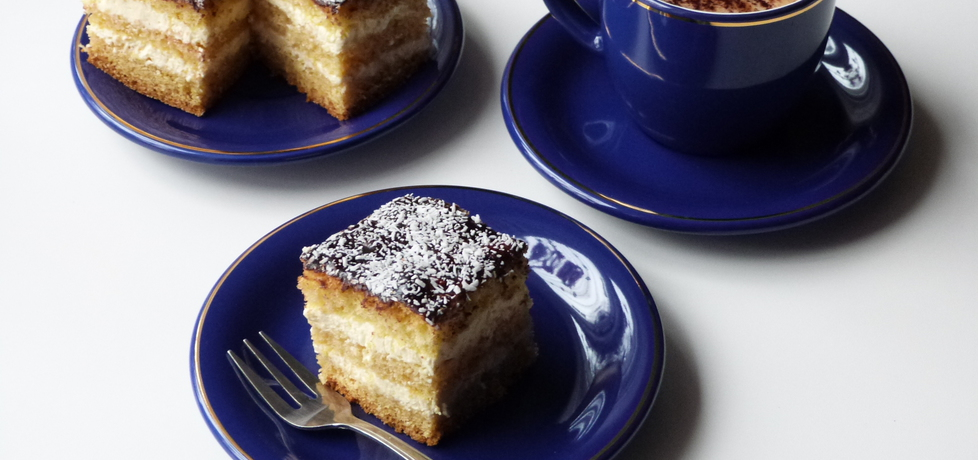 Ciasto biszkoptowe z masą śmietanową (autor: renatazet ...