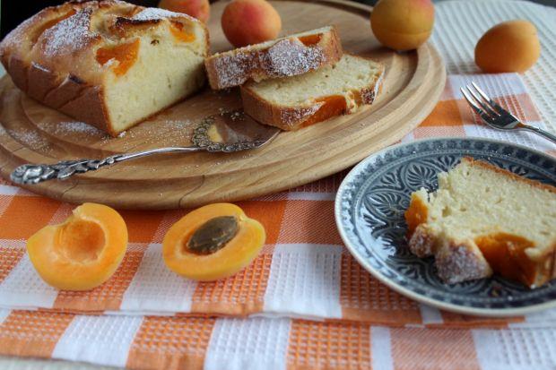 Przepis  oszczędne ciasto z morelami przepis