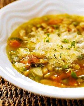 Minestrone  klasyczna włoska zupa jarzynowa