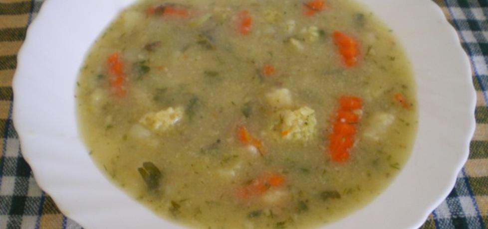 Zupa z brokułami, ziemniakami i marchewką (autor: ilka86 ...