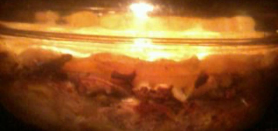 Zapiekanka ziemniaczana z mięsem mielonym i pieczarkami (autor ...