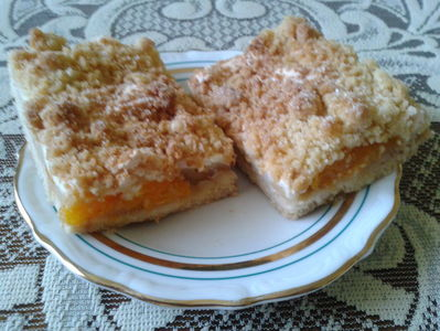 Szarlotka z mandarynkami i jabłkami