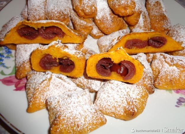 Ciasteczka marchewkowe z daktylami i wisienkami z nalewek ...