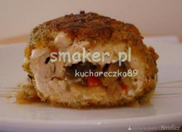 Rolady z piersi z kurczaka na szybko