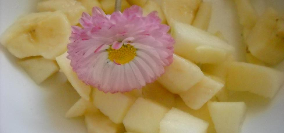 Sałatka z jabłek i bananów dla dzieci (autor: justyna
