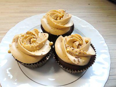 Muffinki czekoladowo