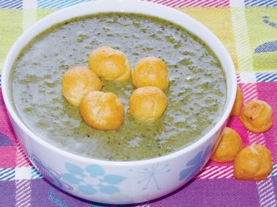 Zupa z jogurtem