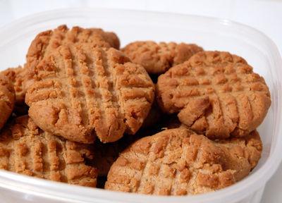 Bezglutenowe ciasteczka orzechowe