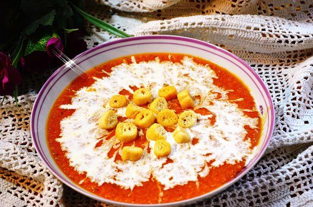 Przepis  zupa krem z soczewicą przepis