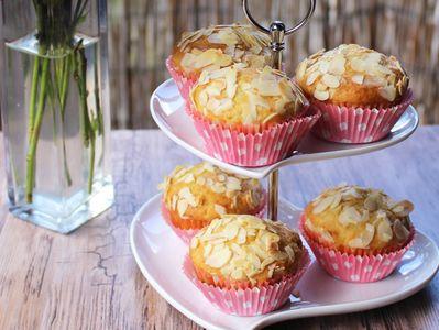 Puszyste muffiny z truskawkami