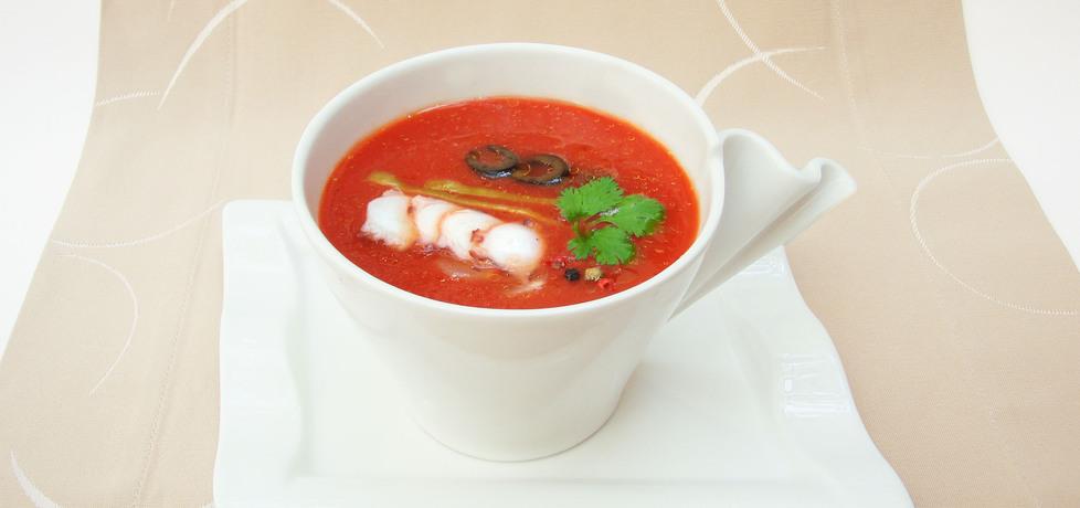 Gazpacho, czyli hiszpański chłodnik z pomidorów (autor: robertsowa ...