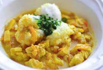 Curry z indyka z ananasem