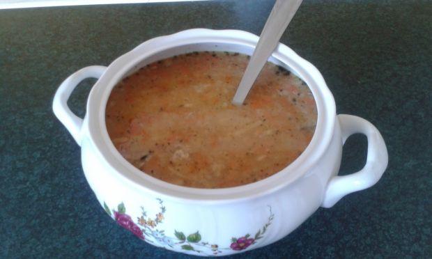 Przepis  zupa grochowa z makaronem przepis
