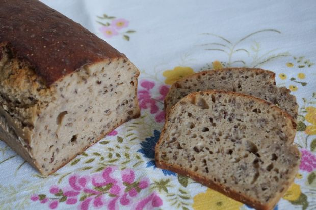 Przepis  niemiecki chleb lniany na zakwasie przepis