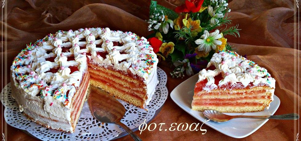 Wyśmienity tort jabłkowy (autor: zewa)