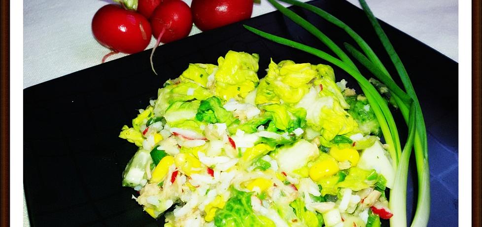 Wiosenna sałatka z tuńczykiem (autor: sylwiasl)