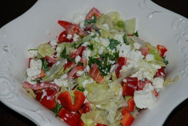 Przepis  śniadaniowy serek z warzywami przepis