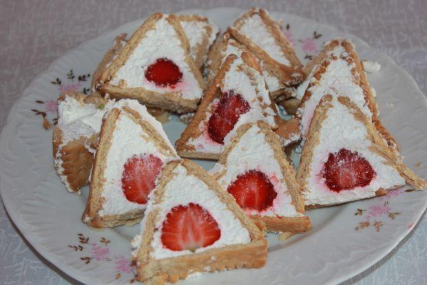 Przepis  słodkie trójkąciki przepis