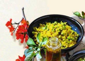 Ryż z zielonym groszkiem na sposób orientalny