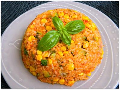 Szybka potrawka z ryżem