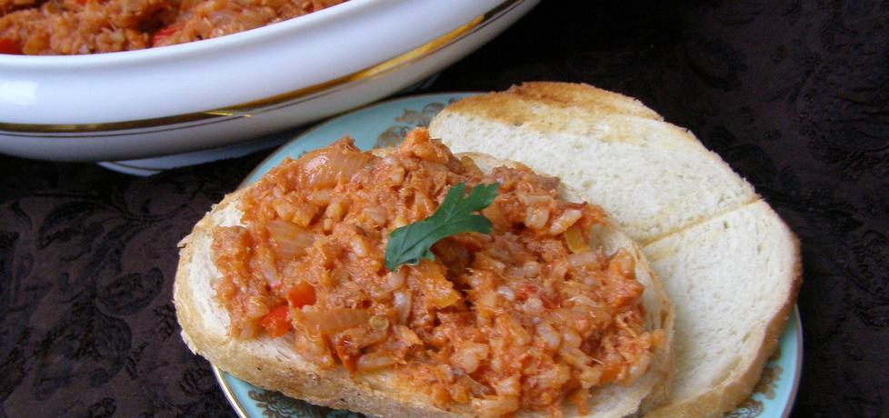 Domowy paprykarz z makrelą wędzoną... (autor: w-mojej