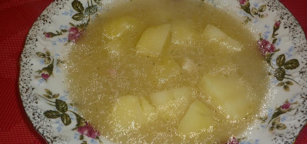 Barszcz biały z ziemniaczkami (autor: wafelek2601 ...
