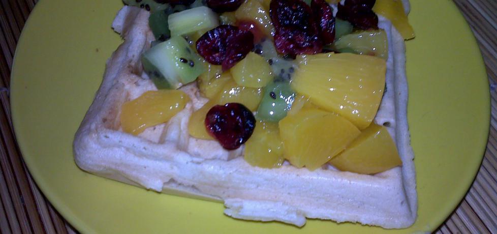 Gofry z owocami (autor: ewelina45)