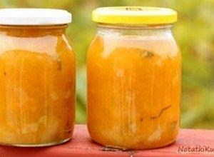 Chutney dyniowo gruszkowy  prosty przepis i składniki