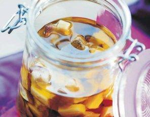 Bakłażany w oliwie  prosty przepis i składniki